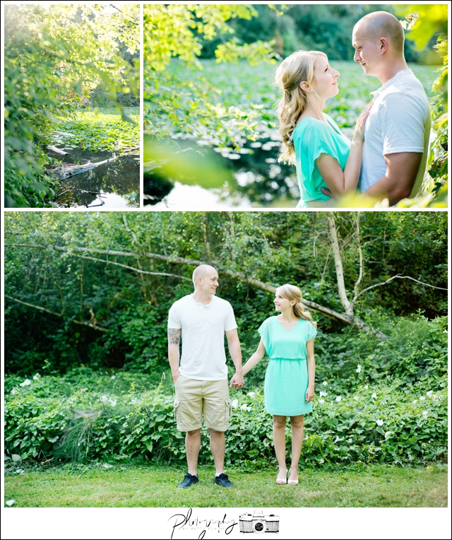 1-Washington-Park-Arboretum-lake-engagement-lilypads-Seattle-engagement-wedding-photographer