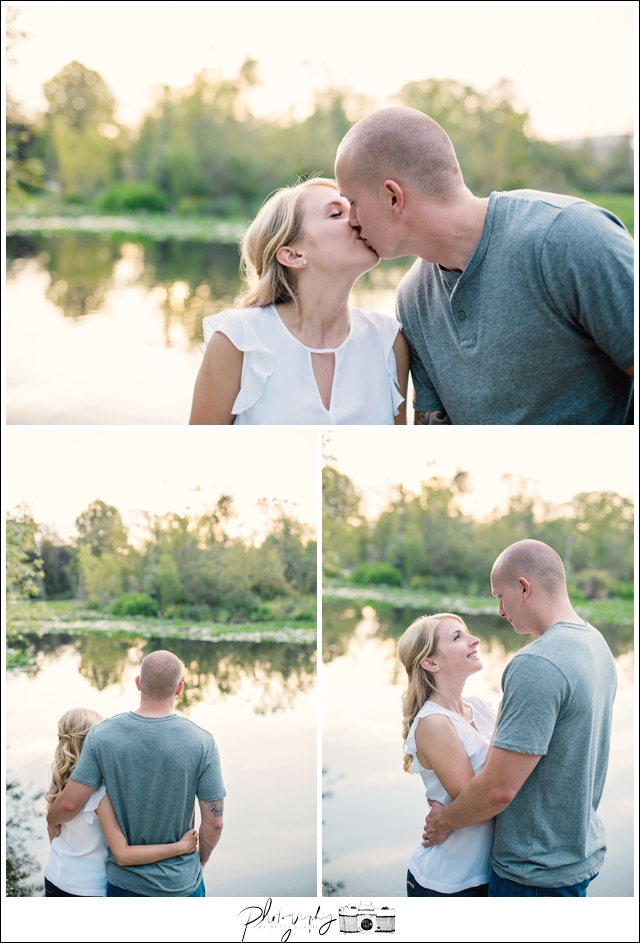 5-Washington-Park-Arboretum-lake-engagement-sunset-Seattle-wedding-photographer