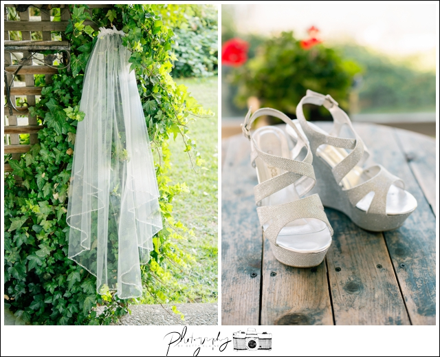 2-veil-brides-shoes-silver-details-Seattle-Wedding-Photographer-Photography-by-Betty-Elaine