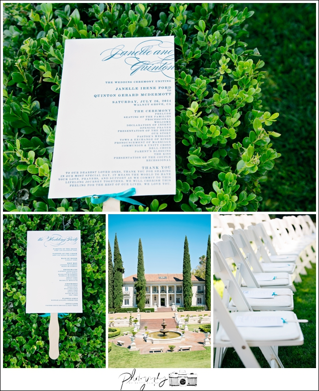 20-Ceremony-Programs-Grand-Island-Mansion-California-Wedding-Venue-Seattle-Wedding-Photographer-Photography-by-Betty-Elaine