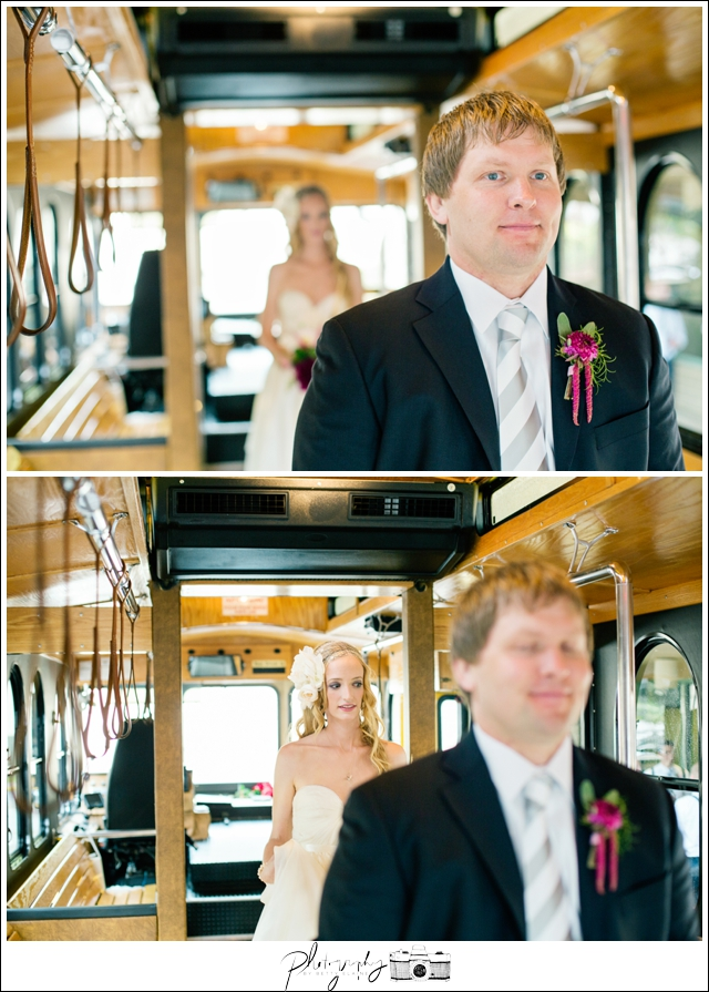 10-First-Look-Trolley-rainy-day-Bride-Groom-Pittsburgh-Seattle-Wedding-Photography-by-Betty-Elaine