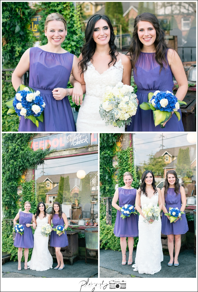 16-Bridesmaids-Wedding-Party-Purple-Dresses-Bridal-Portraits-Wedding-Bouquet-Snohomish-Historic-Downtown-Wedding-Photography-by-Betty-Elaine-Seattle-Wedding-Photographer