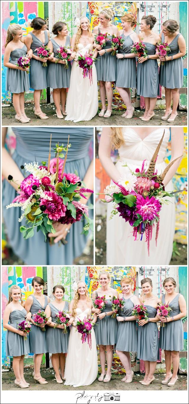 17-Bridesmaid-Portraits-Bouquets-Grey-Dresses-Randy-Land-Unique-Gorgeous-Pittsburgh-Destination-Wedding-Seattle-Photographer