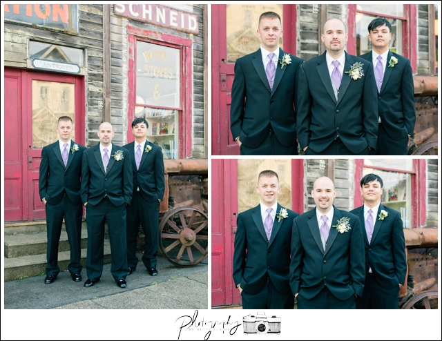 17-Groomsmen-Portraits-Black-Suits-Snohomish-Historic-Downtown-Wedding-Photography-by-Betty-Elaine-Seattle-Wedding-Photographer