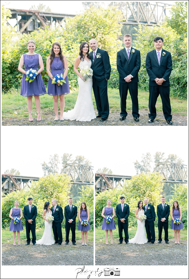20-Wedding-Party-Portraits-Bride-Groom-Bridesmaids-Groomsmen-Snohomish-Historic-Downtown-River-Trail-Wedding-Photography-by-Betty-Elaine-Seattle-Wedding-Photographer