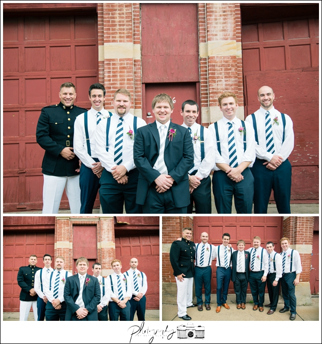 22-Groomsmen-Portraits-Navy-Suits-North-Shore-Historic-Firehouse-Pittsburgh-Destination-Wedding-Seattle-Photographer