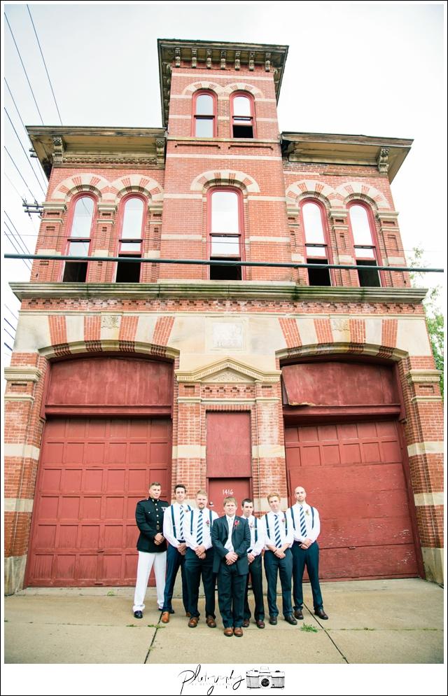 23-Groomsmen-Portraits-Navy-Suits-North-Shore-Historic-Firehouse-Pittsburgh-Destination-Wedding-Seattle-Photographer