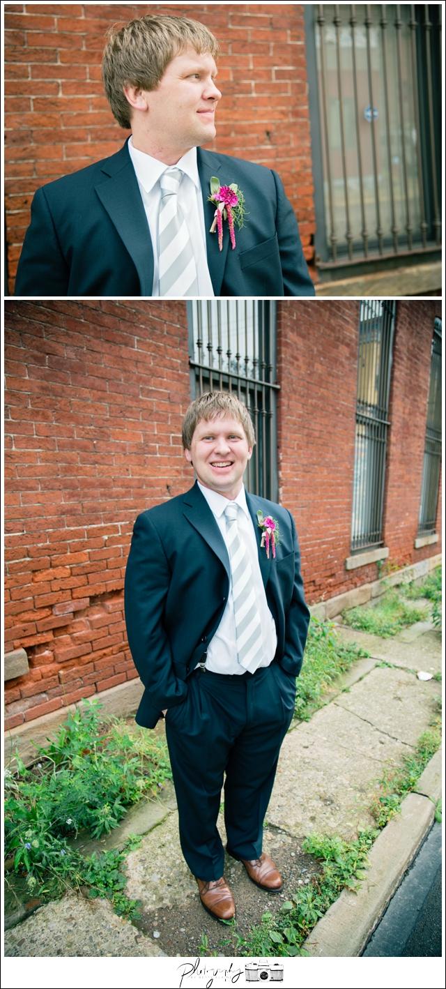 25-Groom-Portraits-Navy-Suit-North-Shore-Historic-Firehouse-Pittsburgh-Destination-Wedding-Seattle-Photographer