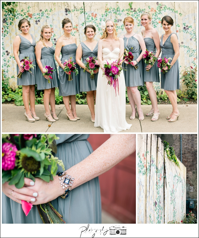 29-Bridesmaid-Portraits-Bouquets-Grey-Dresses-Lovely-Romantic-Urban-North-Shore-Pittsburgh-Destination-Seattle-Wedding-Photography-by-Betty-Elaine
