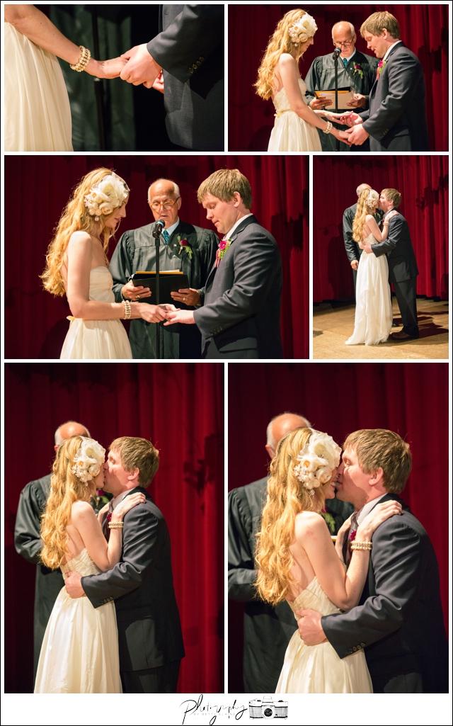 39-Bride-Groom-Rings-Kiss-Ceremony-Pittsburgh-Opera-Industrial-Romantic-Wedding-Venue-Seattle-Photographer