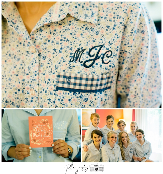 4-Bridesmaids-Getting-Ready-monogrammed-shirts-Seattle-Wedding-Photographer