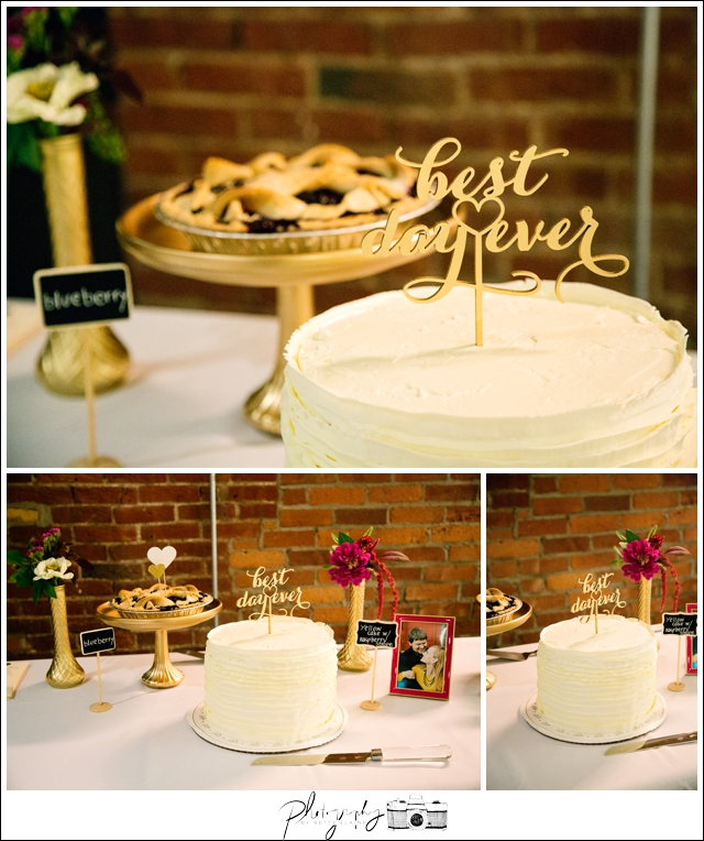 51-Reception-Best-Day-Ever-Cake-Topper-Pittsburgh-Opera-Industrial-Romantic-Wedding-Venue-Seattle-Photography-by-Betty-Elaine