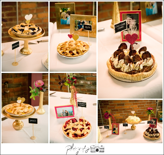 52-Reception-Best-Day-Ever-Pie-Table-Pittsburgh-Opera-Industrial-Romantic-Wedding-Venue-Seattle-Photography-by-Betty-Elaine