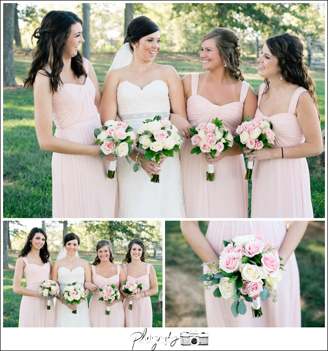 18-Bridal-Portraits-Pink-Bridesmaid-Dresses-Farm-Property-Seattle-Wedding-Photographer-Photography-by-Betty-Elaine