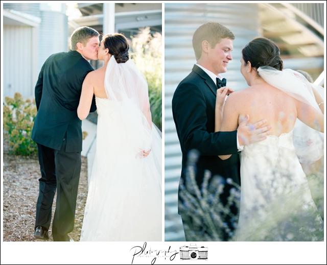 31-Lakeside-Ceremony-Farm-Wedding-Bride-Groom-Married