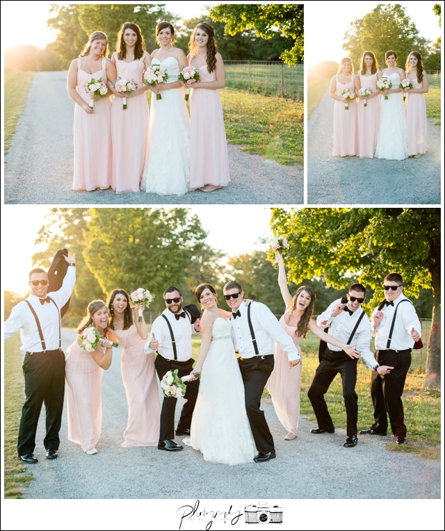 40-Bridesmaids-Pink-Groosmen-Black-White-Classic-Suspenders-fun-wedding-party-portraits-Sunset-Farm-Seattle-Wedding-Photographer-Photography-by-Betty-Elaine