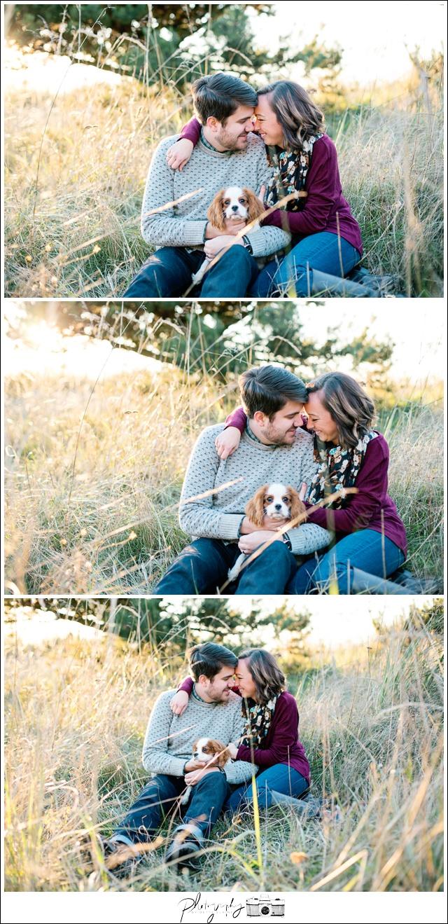 2-Love-Portraits-Sunset-Field-Golden-Gardens-Ballard-Seattle-Wedding-Photography-by-Betty-Elaine