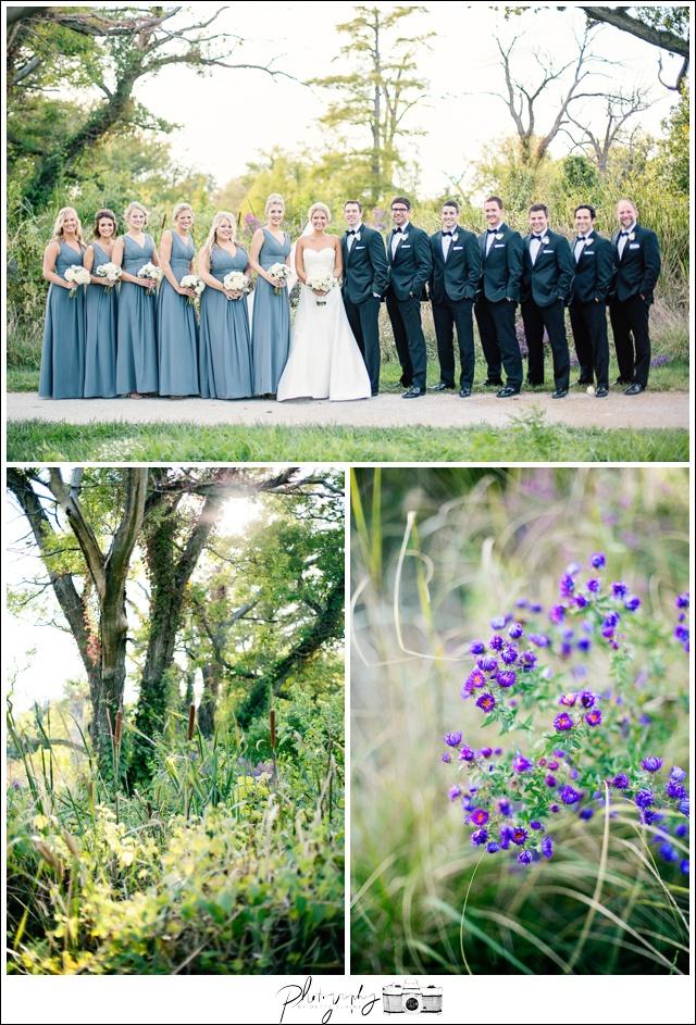 28-Wedding-Party-gray-full-length-bridesmaid-dresses-groomsmen-black-michael-kors-suit-bride-groom-portraits-Seattle-Wedding-Photographer-Photography-by-Betty-Elaine