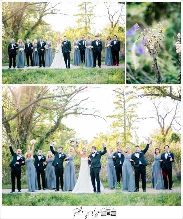 29-Wedding-Party-gray-full-length-bridesmaid-dresses-groomsmen-black-michael-kors-suit-bride-groom-portraits-Seattle-Wedding-Photographer-Photography-by-Betty-Elaine