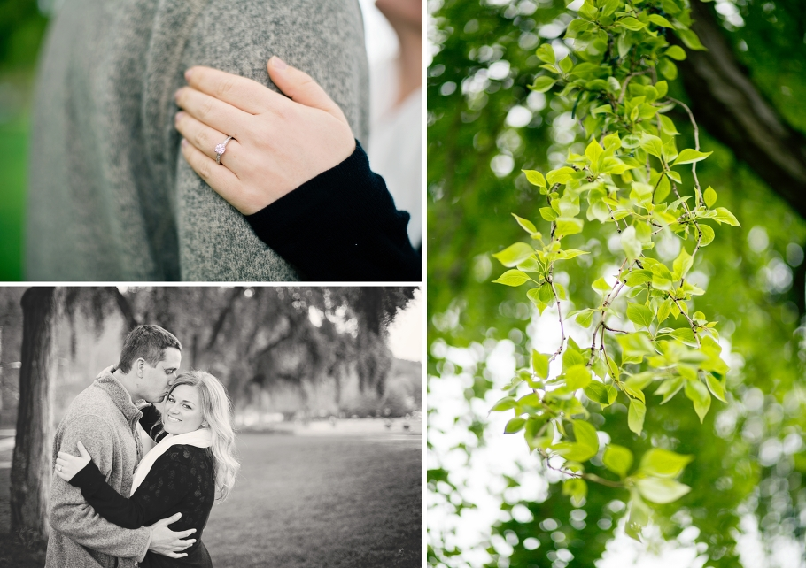 3-Engaged-Golden-Gardens-Park-Ballard-Spring-Engagement-Ring-Willow-Tree-Rainy-Day-Seattle-Photographer-Wedding-Photography-by-Betty-Elaine