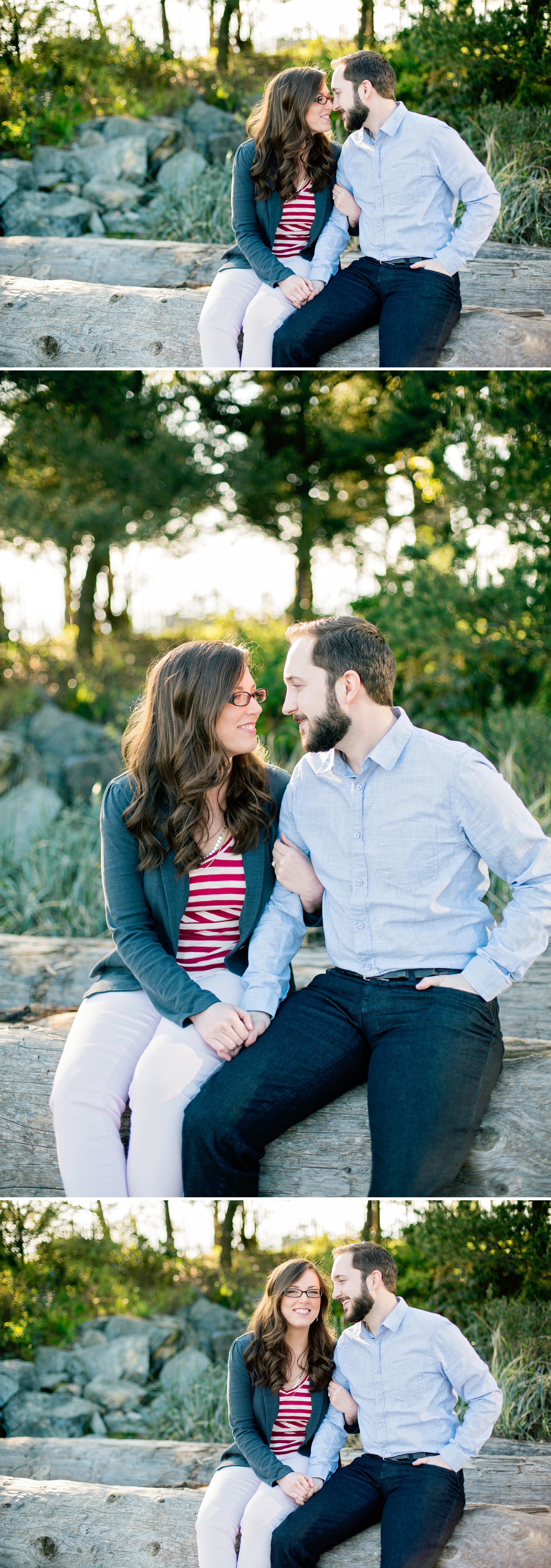 1-Melinda-Tom-Engaged-Seattle-Waterfront-Myrtle-Edwards-Park-Driftwood-Woodland-Beach-Enagement-Photographer-Wedding-Photography-by-Betty-Elaine