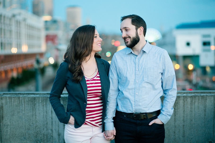 16-Engaged-Seattle-Downtown-Waterfront-Romantic-twilight-boardwalk-cityscape-Enagement-Photographer-Wedding-Photography-by-Betty-Elaine