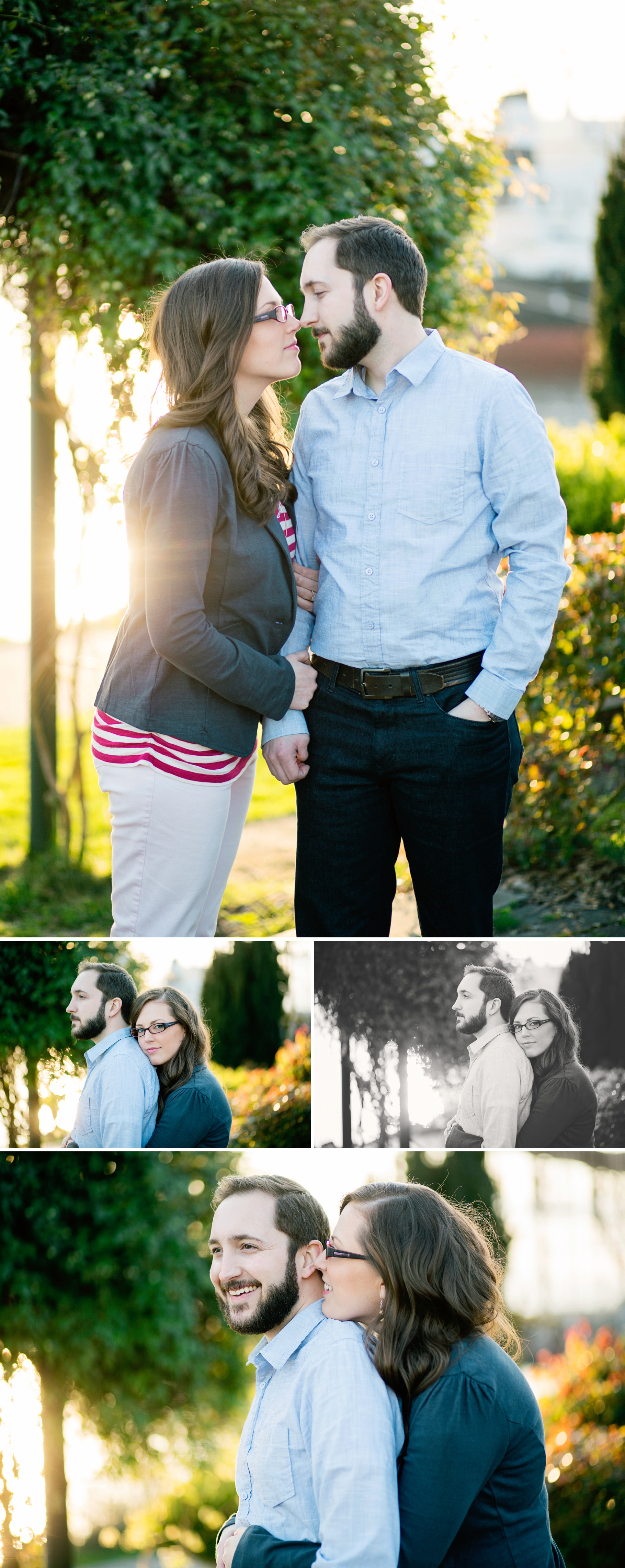 9-Melinda-Tom-Engaged-Seattle-Waterfront-Elliot-Bay-Trail-Garden-Sunset-Romantic-Photographer-Wedding-Photography-by-Betty-Elaine