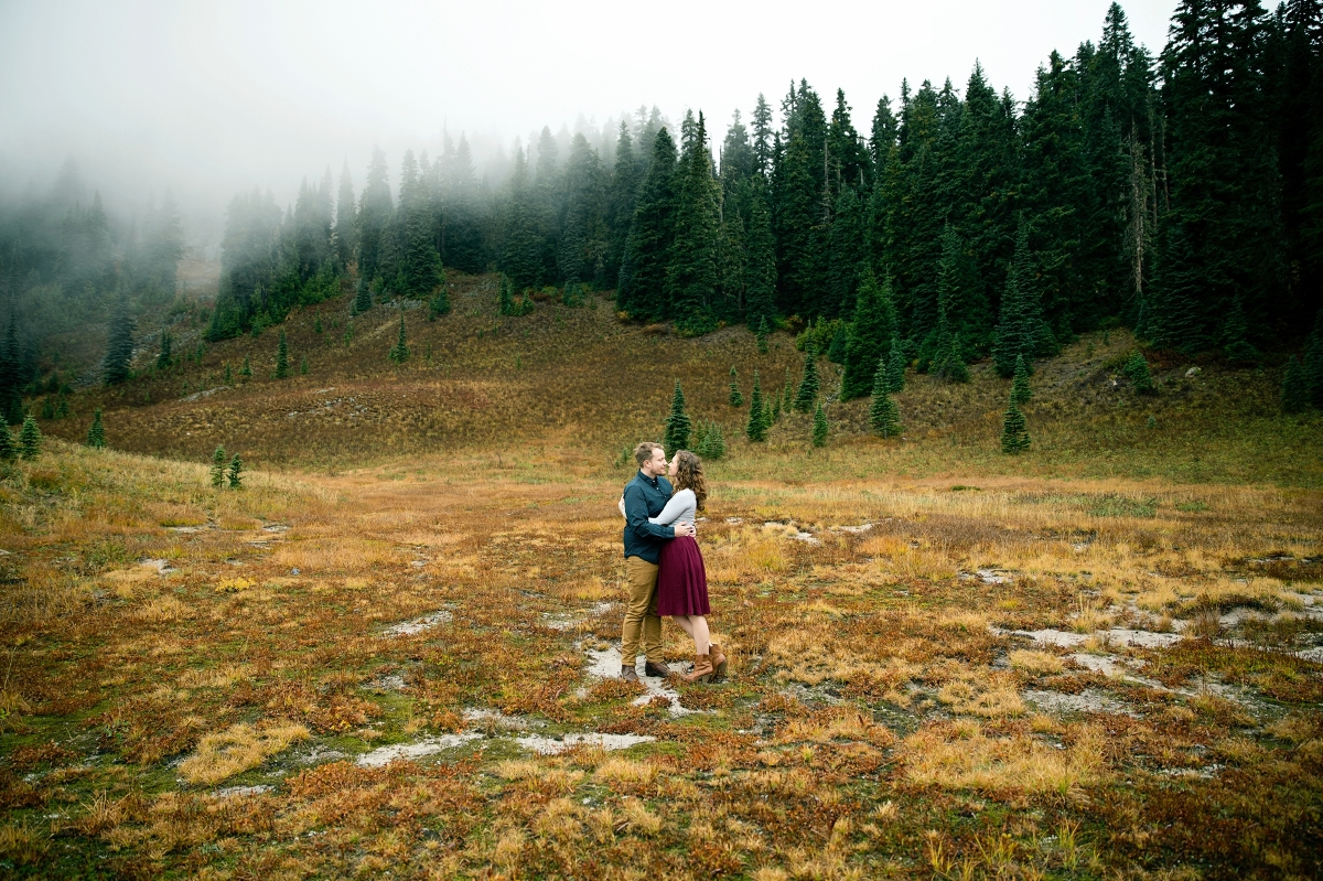 Mount Rainier National Park Seattle Wedding Photographer