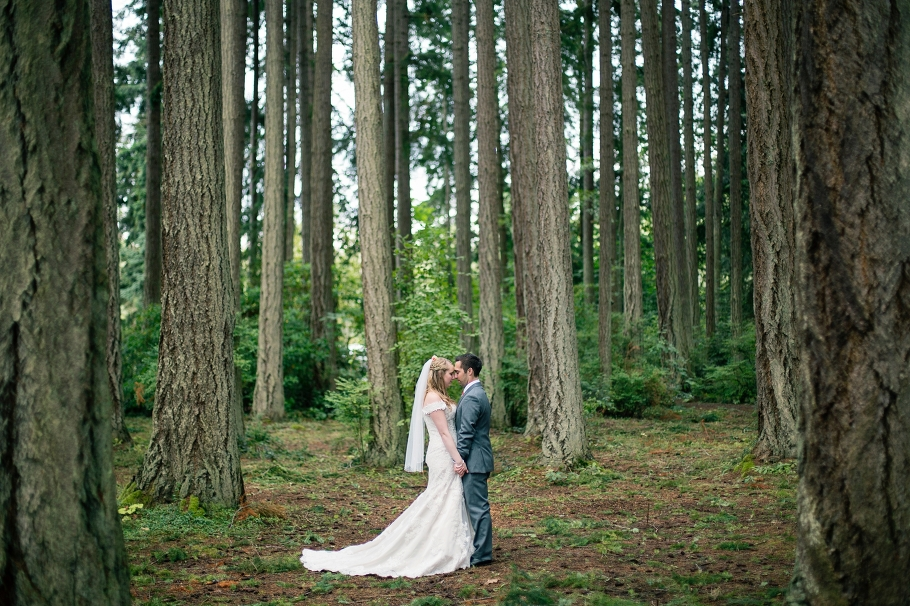 Bride-Groom-Portraits-Married-Bridal-Beach-Ocean-Romantic-wooded-bluff-olympic-mountains-log-cabin-Kitsap-Memorial-State-Park-Forest-Northwest-Photographer-Seattle-Wedding-Photography-by-Betty-Elaine