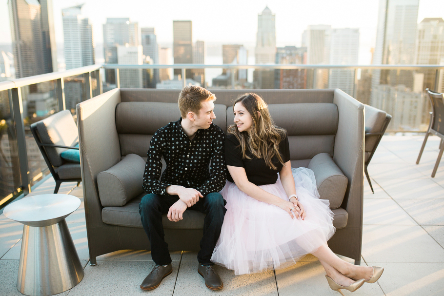1-Capitol-Hill-rooftop-Engagement-Session-seattle-wedding-photographer