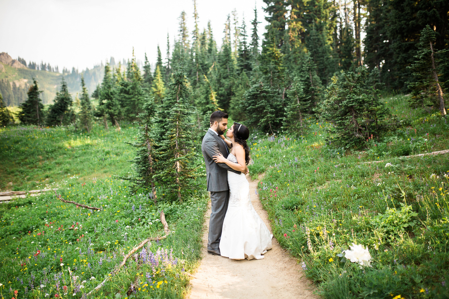 Tipsoo-Lake-Mt-Rainier-Wildflowers-Wedding-Photographer-Seattle-Photography-1
