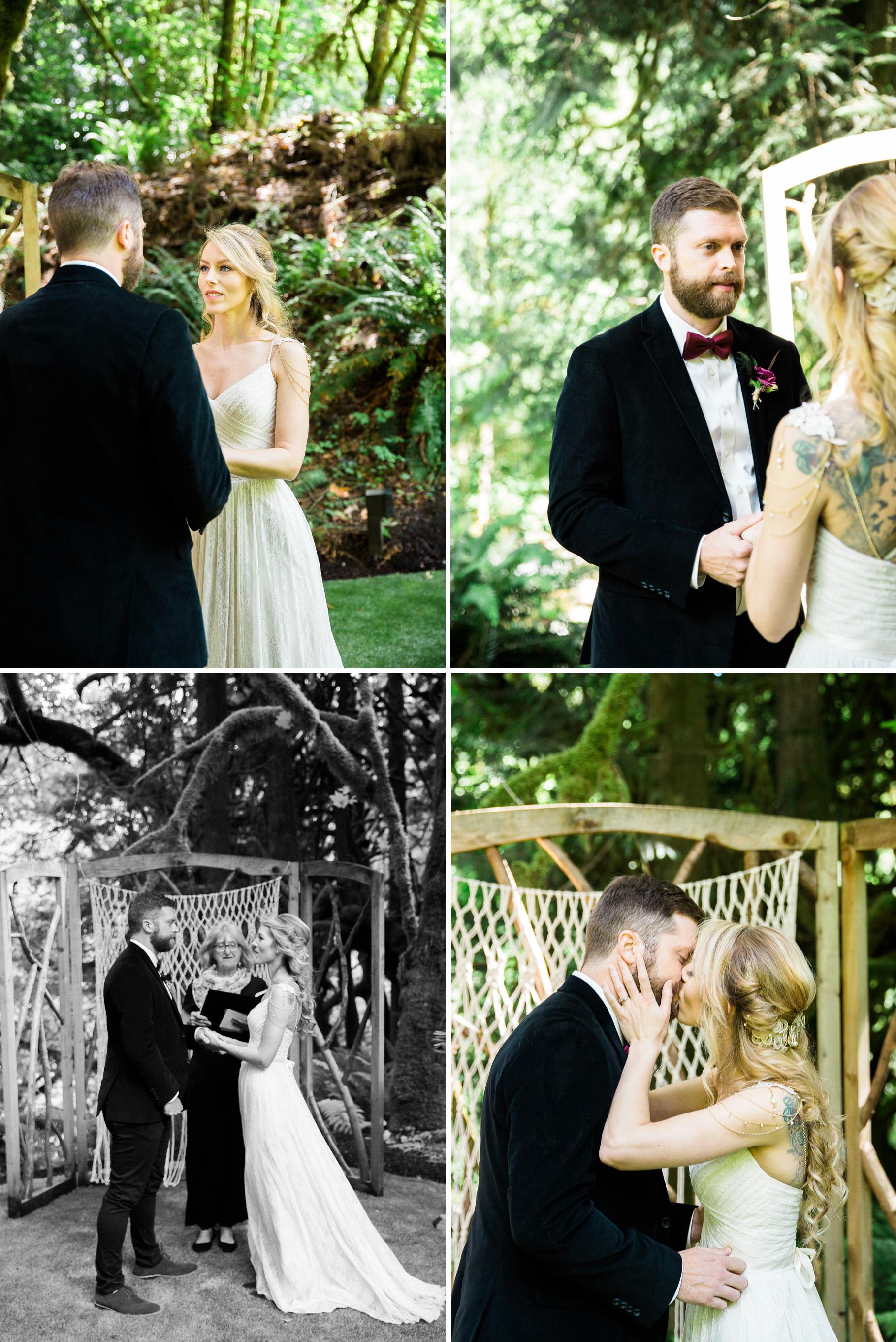13-Treehouse-Point-Elopement-Seattle-Wedding-Photographer-Ceremony