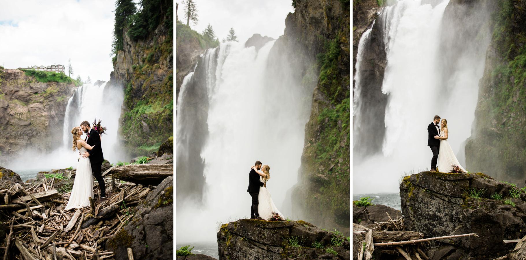 22-Adventure-Elopement-Waterfall-Seattle-Wedding-Photographer-Snoqualmie-Falls-Hike