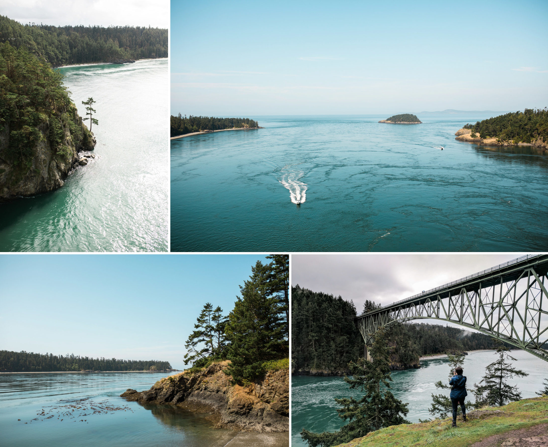 Best places to elope near Seattle. Deception Pass, adventure wedding photography.