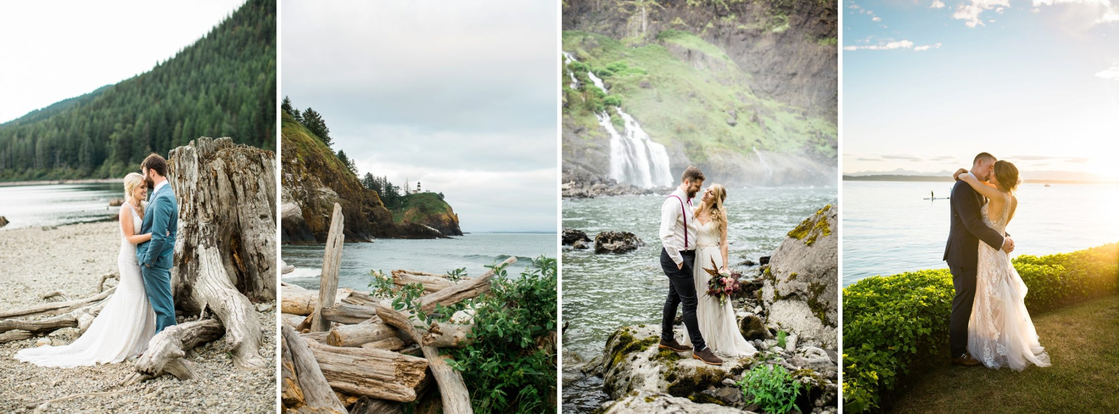 Photography by Betty Elaine's Best Places to Elope near Seattle