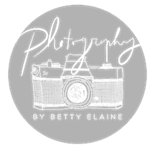 Photography by Betty Elaine logo